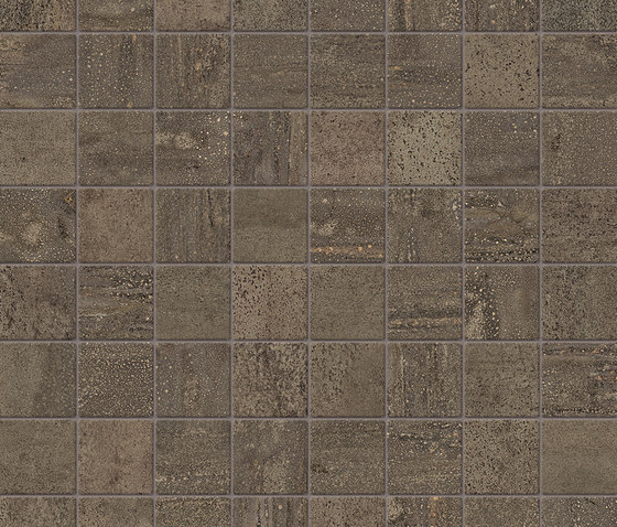 Trace Bronze | Composizione A by Caesar | Ceramic tiles