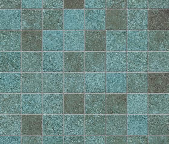 Trace Mint | Composizione A von Caesar | Keramik Fliesen