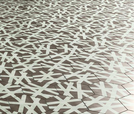 Navone Wire Shadow di Bisazza | Piastrelle cemento