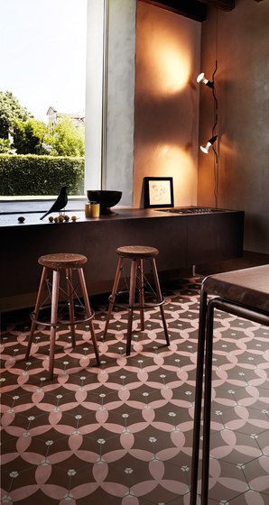Dal Bianco Astral Bakery by Bisazza | Concrete tiles