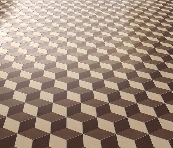 Dal Bianco Cubic Corteccia di Bisazza | Piastrelle cemento