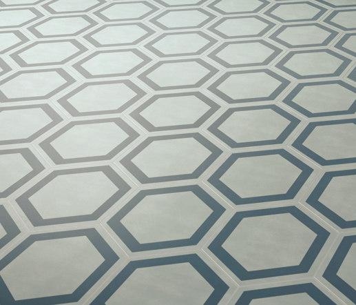 Dal Bianco Honey Bismarck by Bisazza | Concrete tiles