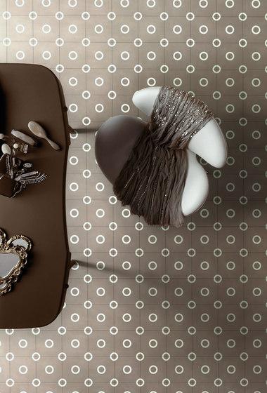 Dal Bianco Mould Castagno by Bisazza   Concrete tiles