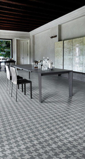 Dal Bianco Traces Piombo by Bisazza | Concrete tiles