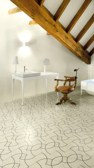 Hayon Compas Pirineos B by Bisazza | Concrete tiles
