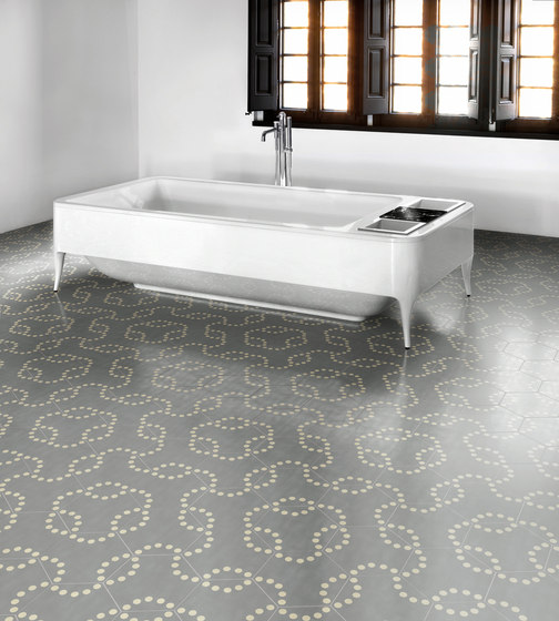 Hayon Lunas Bilbao D by Bisazza | Concrete tiles