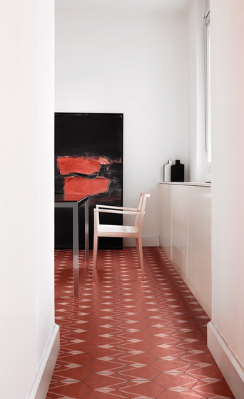 Hayon Pilsados Rubi B by Bisazza | Concrete tiles