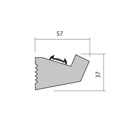 189 ligne profiles from atelier sedap architonic. Black Bedroom Furniture Sets. Home Design Ideas