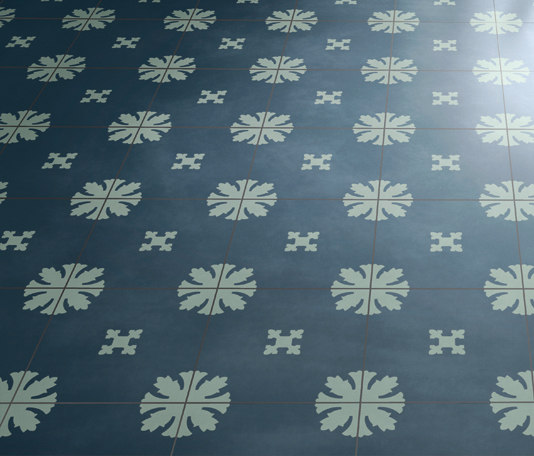 BDS Paper Blu di Bisazza | Piastrelle cemento