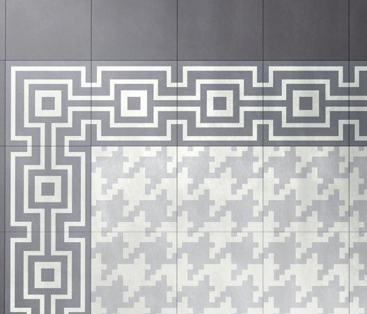 I Fregi Perfect Beton (A+B) by Bisazza   Concrete tiles