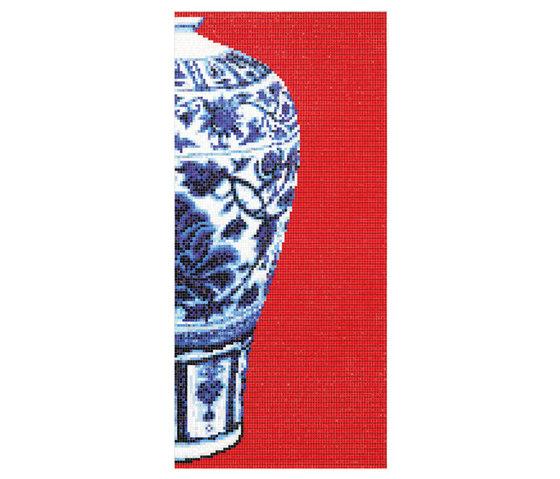 Blue Vases di Bisazza | Mosaici
