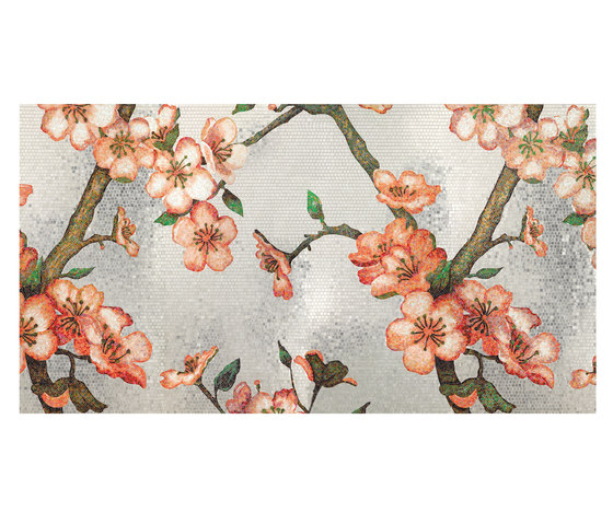 Peachtree by Bisazza | Glass mosaics