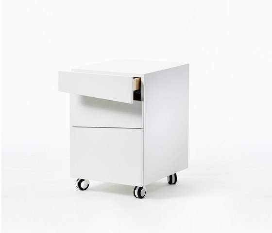 Angle Drawer by A2 designers AB | Pedestals