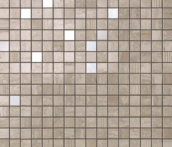 Marvel PRO Travertino Silver Mosaico de Atlas Concorde | Mosaïques céramique