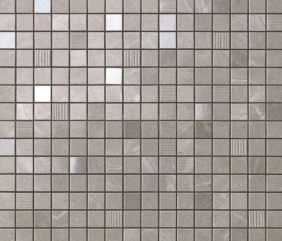 Marvel PRO Grey Fleury Mosaico de Atlas Concorde | Mosaicos de cerámica