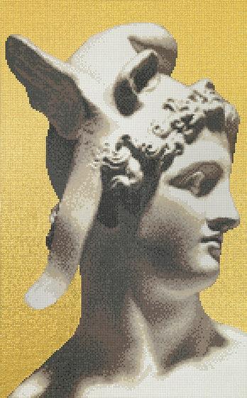 Canova Oro Perseo Oro di Bisazza | Mosaici