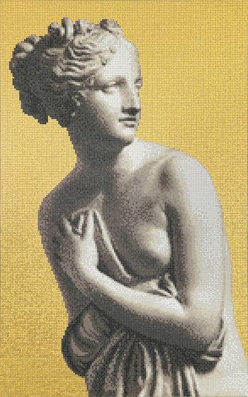 Canova Oro Venus Oro de Bisazza | Mosaïques verre