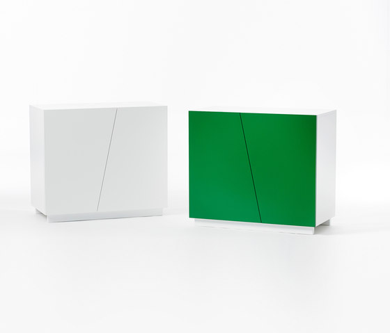 Angle Storage Low Cabinet  W 90 by A2 designers AB | Cabinets