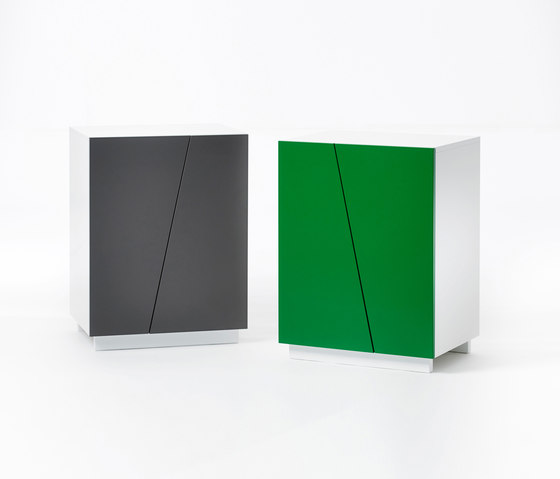 Angle Storage Low Cabinet W 60 by A2 designers AB | Cabinets