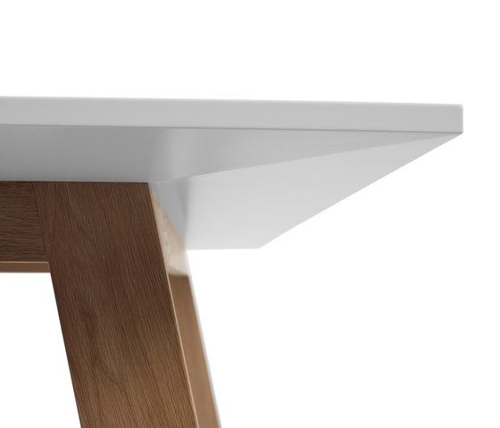 Angle Table by A2 designers AB | Individual desks