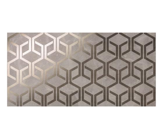 Marvel PRO Grey Fleury Hexagon shiny by Atlas Concorde | Ceramic tiles