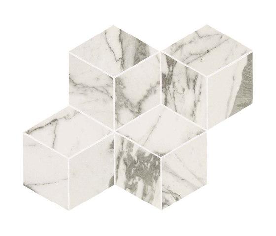 Marvel PRO Statuario Select Mosaico Esagono de Atlas Concorde | Mosaicos de cerámica