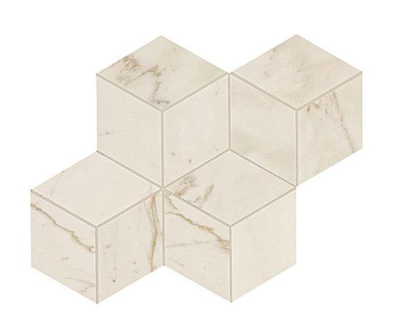 Marvel PRO Cremo Delicato Mosaico Esagono by Atlas Concorde | Ceramic mosaics