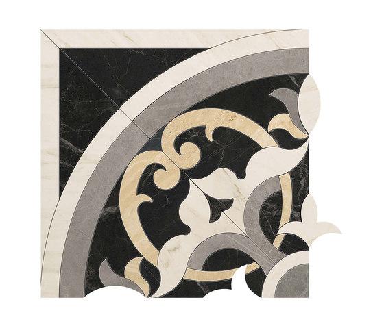 Marvel PRO Elegance Angolo Dark de Atlas Concorde   Mosaicos de cerámica