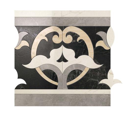 Marvel PRO Elegance Fascia Dark shiny by Atlas Concorde | Ceramic mosaics