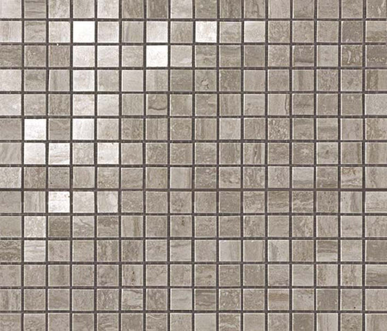 Marvel PRO Travertino Silver Mosaico shiny di Atlas Concorde | Mosaici ceramica