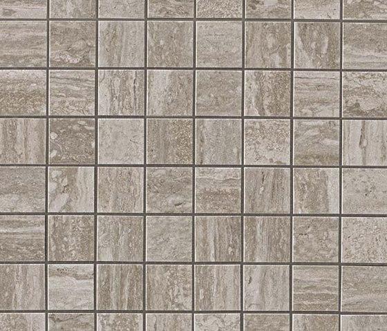 Marvel PRO Travertino Silver Mosaico by Atlas Concorde | Ceramic mosaics
