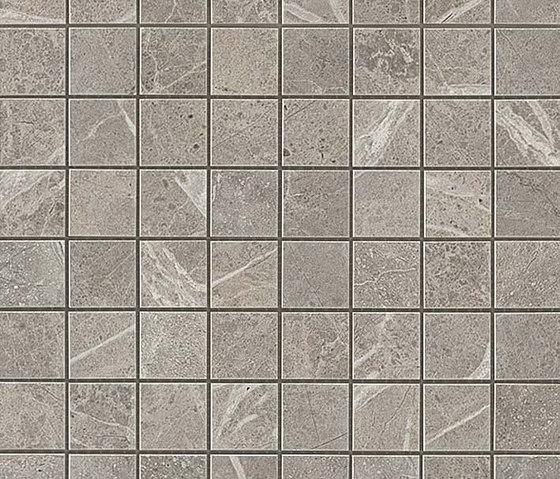 Marvel PRO Grey Fleury Mosaico de Atlas Concorde   Mosaicos de cerámica