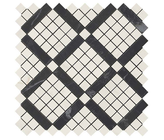 Marvel PRO Cremo Delicato Mix Diagonal Mosaic de Atlas Concorde   Mosaicos de cerámica