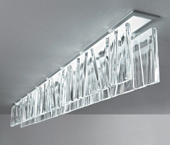 Tile LED D95 by Fabbian | Suspended lights