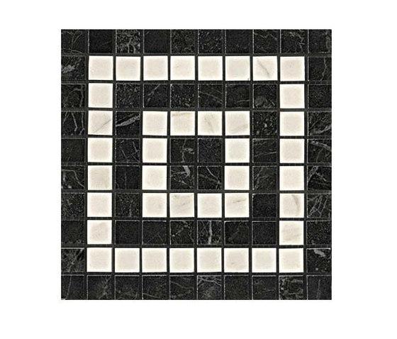 Marvel PRO Noir/Cremo Angolo Mosaico de Atlas Concorde | Mosaicos de cerámica