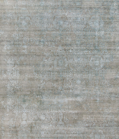 Inspirations T3 grey & blue by THIBAULT VAN RENNE | Rugs