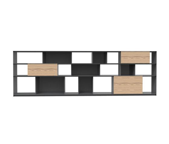 Stack Shelfsystem by Müller Möbelfabrikation | Shelving