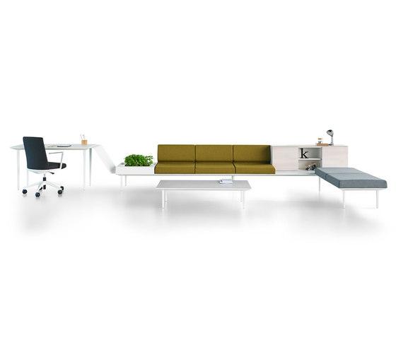 Longo Softseating de actiu | Mobiliario de trabajo / lounge