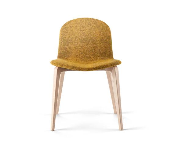 Bob XL Wood Chair by ONDARRETA | Restaurant chairs