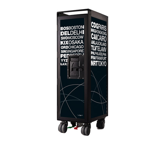 bordbar black edition airports black by bordbar | Trolleys