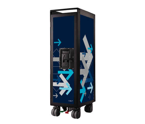 bordbar black edition arrows blue by bordbar | Trolleys