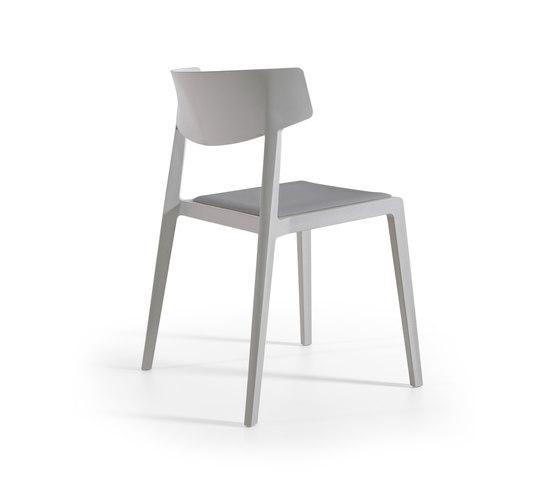 Wing Upholstered de actiu | Sillas