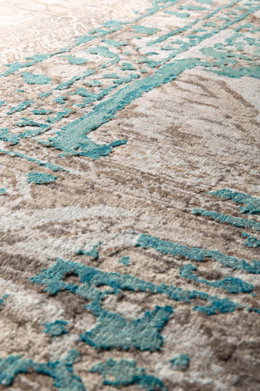 Mystique turquoise by THIBAULT VAN RENNE | Rugs