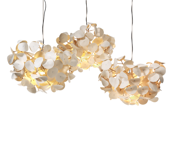 Leaf Lamp Pendant 130 cluster by Green Furniture Concept | Suspended lights