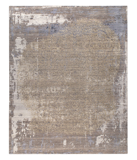 Siena A blue & grey by THIBAULT VAN RENNE | Rugs