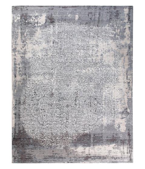 Siena B grey & silver by THIBAULT VAN RENNE | Rugs