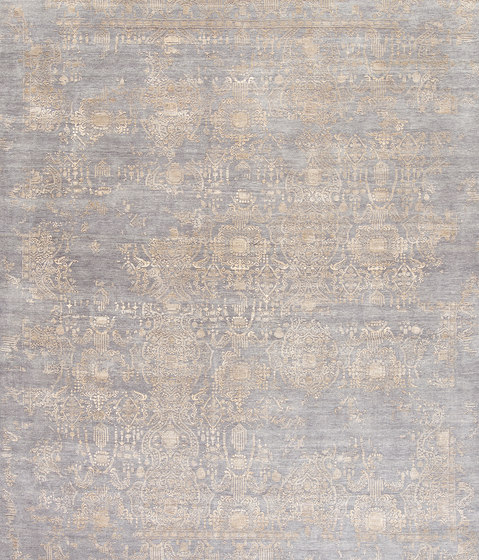 Inspirations T3 mid grey gold by THIBAULT VAN RENNE | Rugs