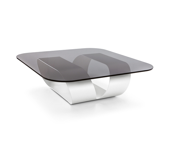 Ring Smoked Glass by Sovet | Coffee tables