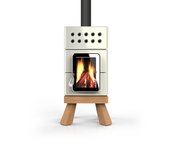 mini stack wood burning stoves from la castellamonte architonic. Black Bedroom Furniture Sets. Home Design Ideas