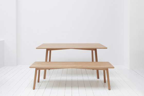 Profile Table Square 160 von STATTMANN NEUE MOEBEL | Esstische